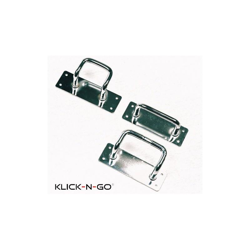 Wandhaken Set WS 075 voor Klick-N-Go GT200 - GT250 - GT300 - GT350 - GT400 en Sprinter golf trolleys