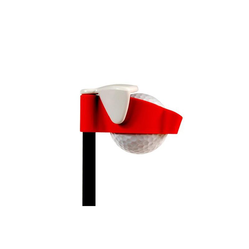 NIEUW! BENS Golf Ball Retriever. 5 mtr. Kleur rood